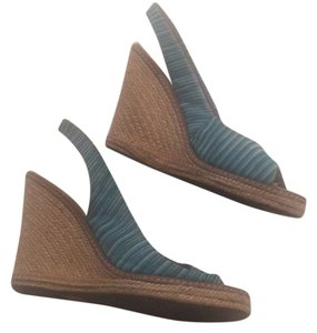Missoni Blue Wedges