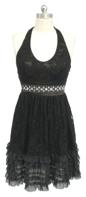 Preload https://img-static.tradesy.com/item/119332/black-rose-lace-halter-knee-length-cocktail-dress-size-10-m-0-0-650-650.jpg