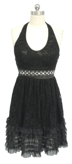 Preload https://item4.tradesy.com/images/black-rose-lace-halter-knee-length-night-out-dress-size-8-m-119333-0-0.jpg?width=400&height=650