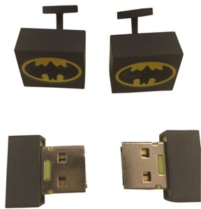 DC-BAT-USB Jewelers Cufflinks DC comics Batman Cufflinks