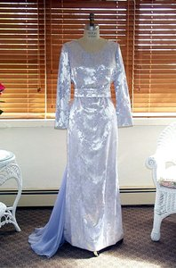Edward Cromarty Art Design Studio Purple Lilac Wedding Dress