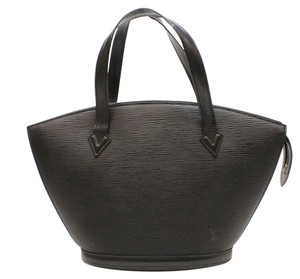 Louis Vuitton Epi Lv Tote in Black