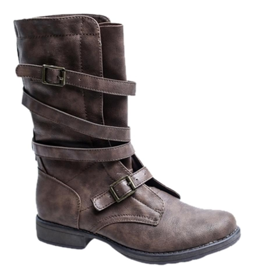 WOMENS Madden Girl Brown Rascal Boots/Booties available Every article described is available Boots/Booties f94449