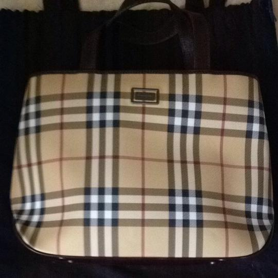 Preload https://item3.tradesy.com/images/burberry-tote-classic-check-chocolate-satchel-11937-0-0.jpg?width=440&height=440