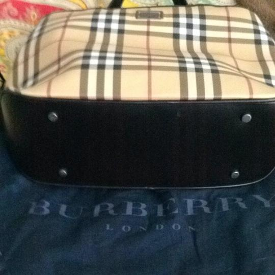 Burberry Satchel in Classic Check / Chocolate