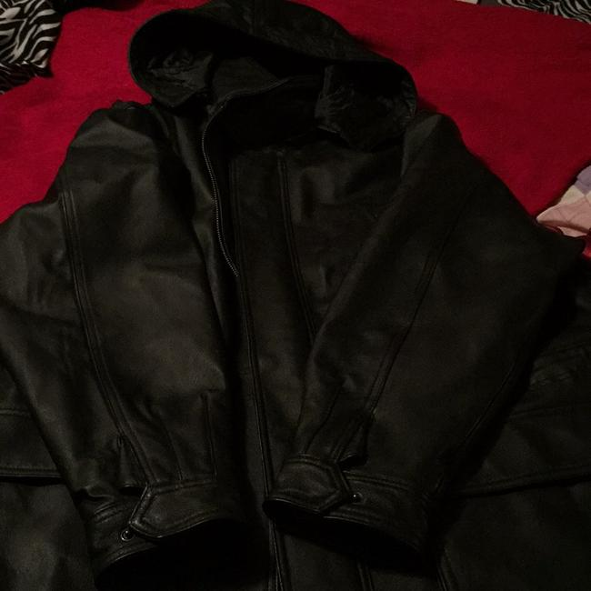 Airbourne Leathers Trench Coat Image 10