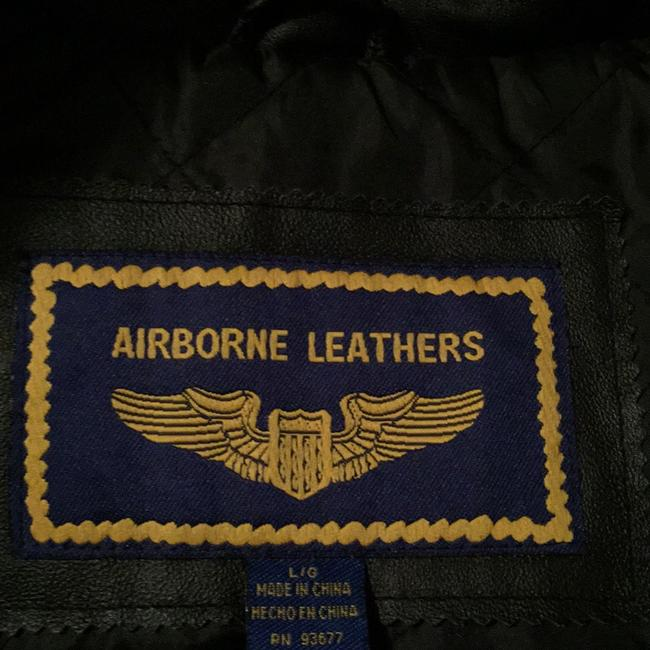 Airbourne Leathers Trench Coat Image 2