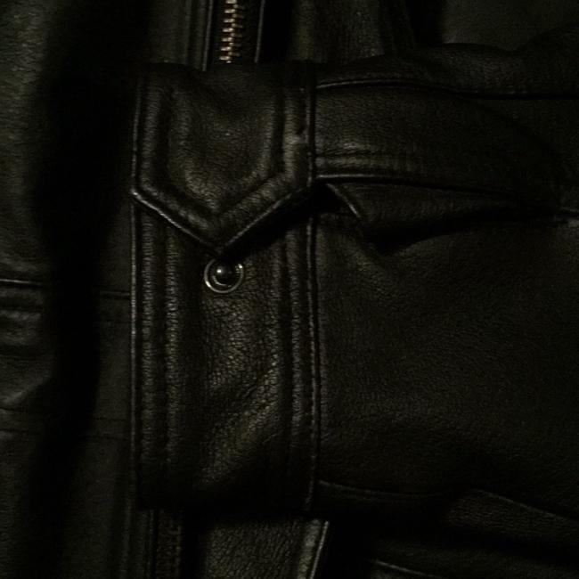 Airbourne Leathers Trench Coat Image 3