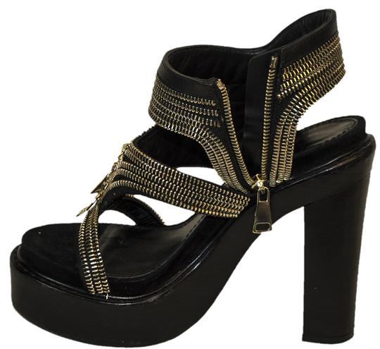 Givenchy Leather Zippers black Pumps Image 4