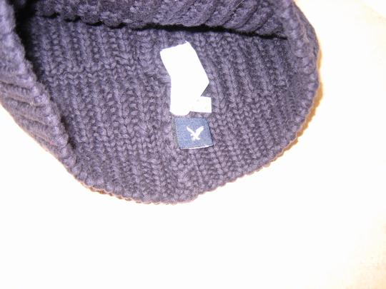 American Eagle Outfitters AEO Slouchy Navy Beanie New