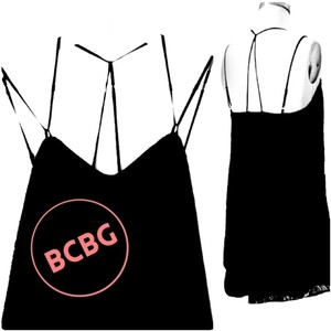 BCBGeneration Summer Lbd Tank Shirt Edgy Dress