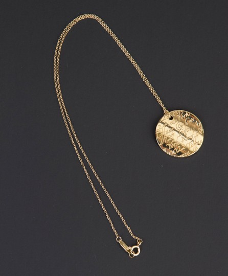 Tiffany & Co. Tiffany Notes Pendant in 18k yellow gold on 16'' chain Image 4