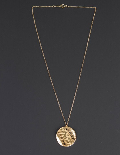 Tiffany & Co. Tiffany Notes Pendant in 18k yellow gold on 16'' chain Image 5