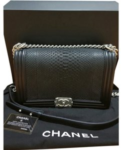 Chanel Boy Python Medium New Medium Shoulder Bag
