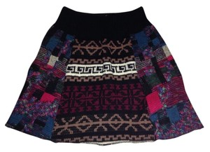 Urban Renewal Skirt Multi Pink Beige Black Blue White Mint Green