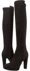 Stuart Weitzman Suede Over The Knee Tall black Boots