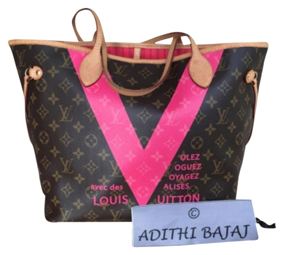 c22a03d43865 Louis Vuitton Neverfull Mm Grenade Pink Limited Edition Delightful  Turquoise Sully Speedy Bandouliere Artsy Empreinte Monogram ...
