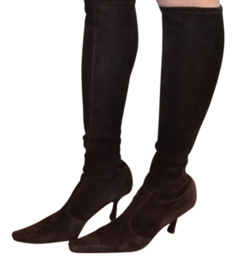 Preload https://img-static.tradesy.com/item/11939263/stuart-weitzman-suede-bootsbooties-size-us-75-regular-m-b-0-1-540-540.jpg