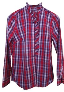 Gap Button Down Shirt plaid