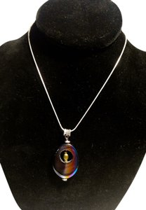 Other Sterling Silver Rainbow Hematite Necklace 18 in. N152