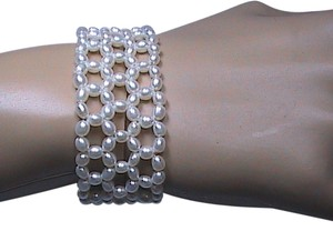 Unknown Fresh Water Stretch Pearl Bracelet