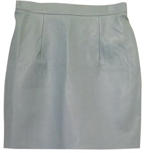 American Apparel Mini Skirt Light Blue