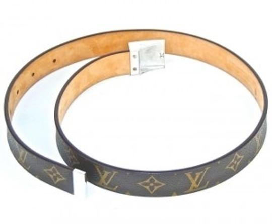 Louis Vuitton monogram belt 38 inch belt