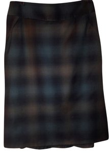 Banana Republic Skirt Plaid/multi