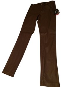 New York & Company Skinny Pants Brown