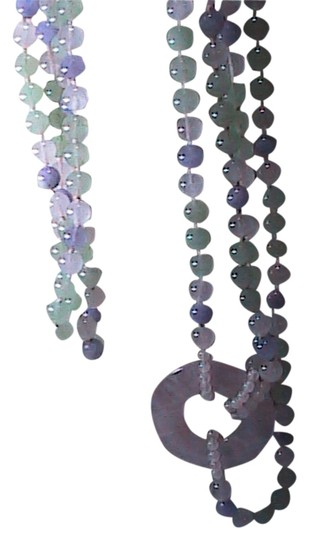 Preload https://img-static.tradesy.com/item/1194154/jade-and-quartz-stunning-in-the-80-s-double-strand-green-lavender-necklace-0-0-540-540.jpg