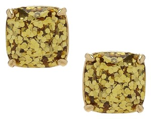 Kate Spade NEW Kate Spade New York GOLD Glitter Studs Earrings