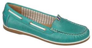 Naturalizer Slip Ons Comfortable Comfy Turquoise Flats