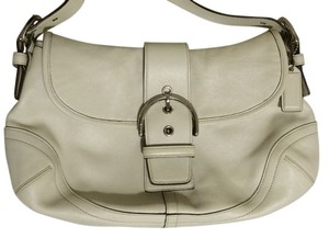 Coach Legacy Leather Signature Buckle Hobo Bag