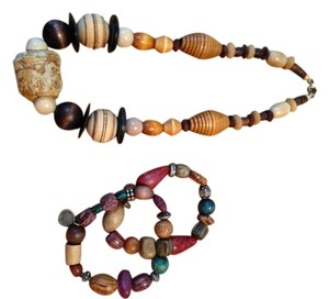 Other fashion wooden jewelry