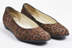 Salvatore Ferragamo Boutique Brown Flats
