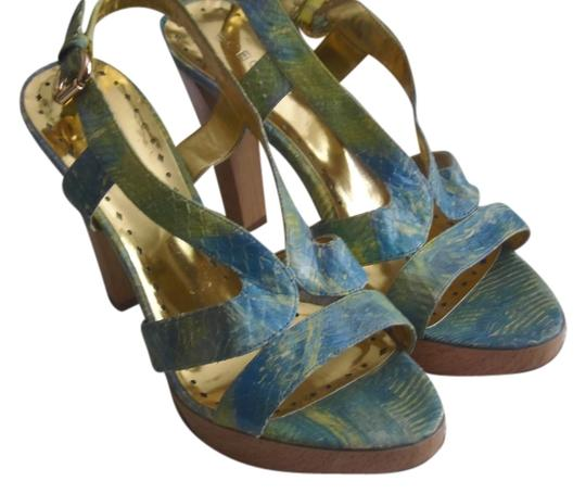BCBGeneration Bcbggrls 8.5m Trendy & Stylish Blue Multi Platforms