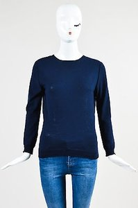 Nina Ricci Navy Wool Sweater