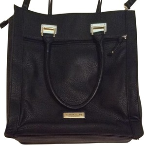 Olivia + Joy Tote in Black With Gold Accents
