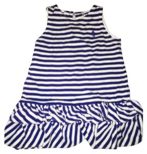 Striped navy blue Maxi Dress by Ralph Lauren