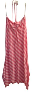 Ella Moss short dress Pink Striped Beach on Tradesy