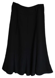 Evan Picone A-line Skirt Black