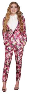 Kate Spade Kate Spade Real Roses Blazer And Capri Pants Suit Size 6 S Multicolor $950