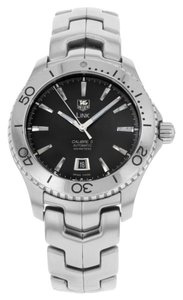 TAG Heuer TAG Heuer Link Caliber 5 WJ201A.BA0591 Stainless Steel Automatic Men's Watch (12070)
