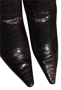 Diba Crocodile black Boots