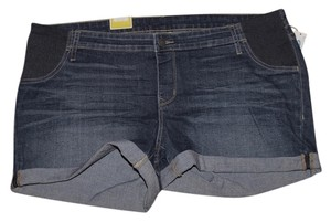 Old Navy NWT Old Navy Maternity Side-Panel Denim Cut-Off Shorts size 16 NEW