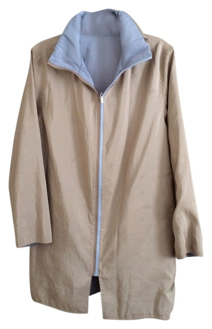 Item - Reversible Tan Or Blue Coat Size OS (one size)