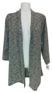 Charter Club Open Front Plus Size Textured Sweater 2x Cardigan