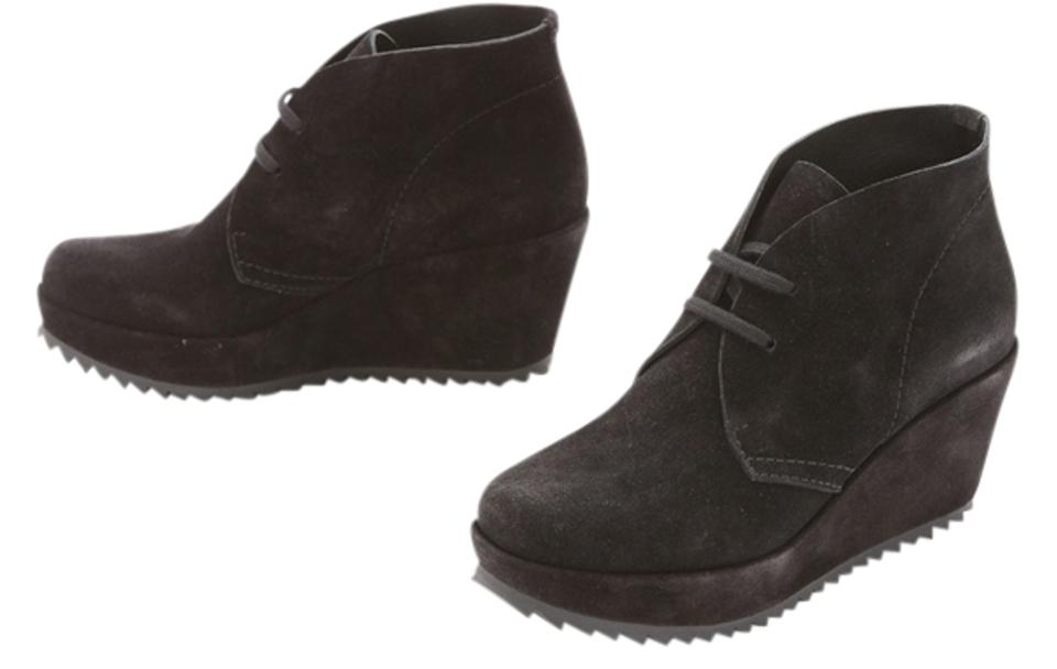 Pedro Garcia Boots/Booties Brown Febe Suede Wedge Boots/Booties Garcia d64ccf
