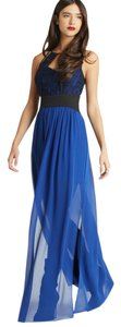 Electric Blue Maxi Dress by BCBGeneration Maxi Chiffon