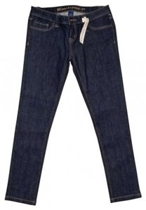 Blue Asphalt Skinny Jeans-Medium Wash